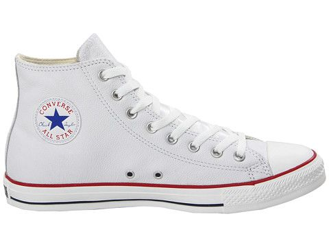 32d0a2b71aa Converse Chuck Taylor® All Star® Specialty Leather HI White Leather Tenis