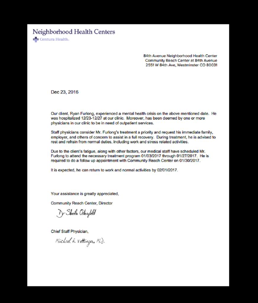Fake DoctorS Excuse Mental Health Psychiatric Work Excuse