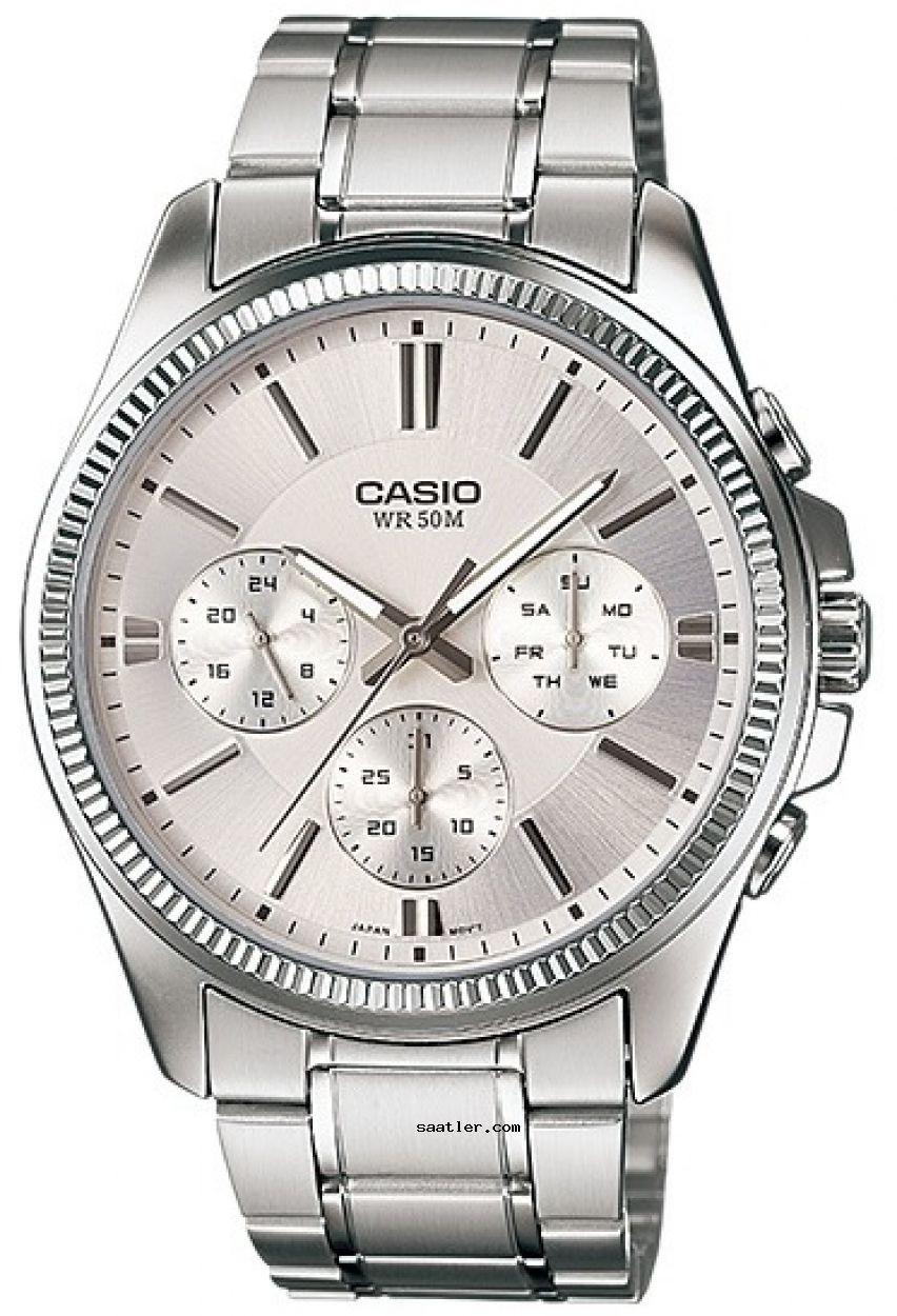 Casio Mtp 1375d 7avdf Kol Saati Erkek Kol Saatleri Saatler Mineraller