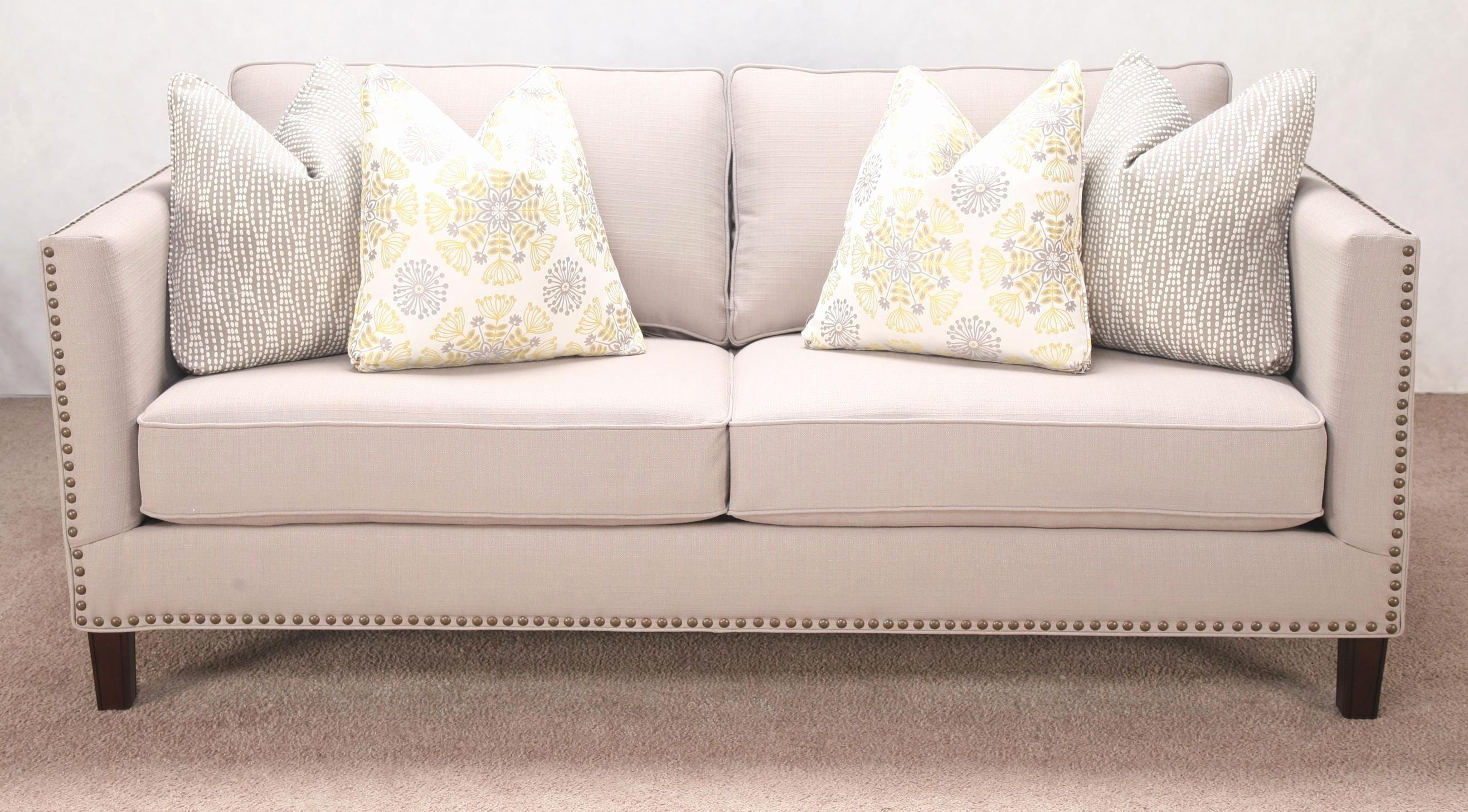 nailhead sleeper sofa alan white at sofadealers sofas