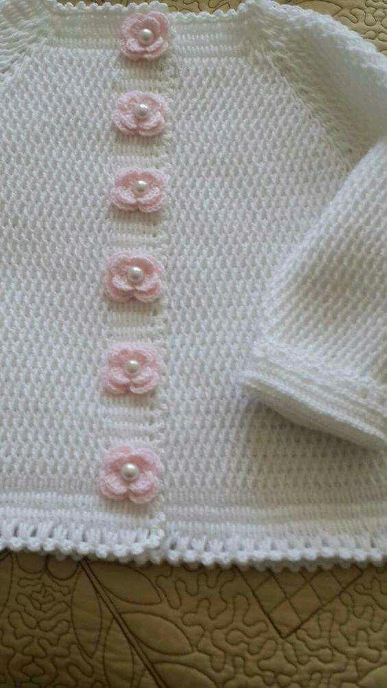 Pin von Silvia Santa Cruz-Valdivia auf ropa de bebe | Pinterest ...