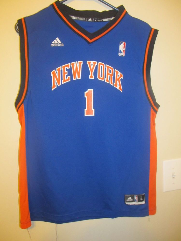reputable site 73194 9b3b7 Amare Stoudemire - New York Knicks jersey - Adidas youth XL ...
