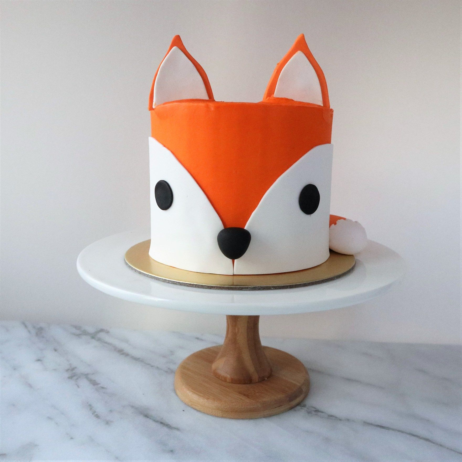 Fox Birthday Cake Mr Fox Cake Creme Maison Bakery Singapore In