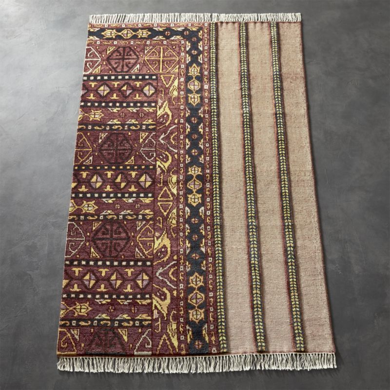 Shop Gigi Faded Light Red Rug Handwoven By Skilled Weavers In Bhadohi India Faded Red Wool Rug Evokes Ancient Marke Red Rugs Red Wool Rug Grey Patterned Rug