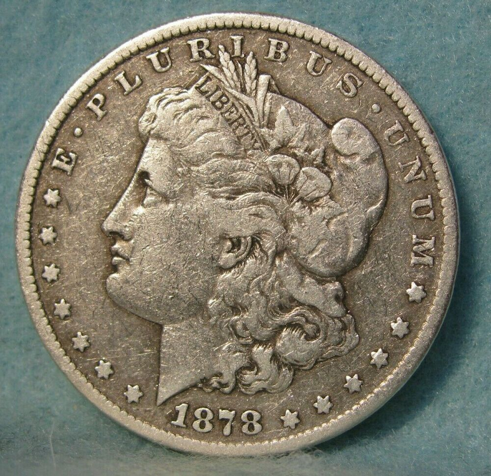1878 Cc Carson City Mint Morgan Silver Dollar United States Coin In 2020 Morgan Silver Dollar Coins Silver Dollar