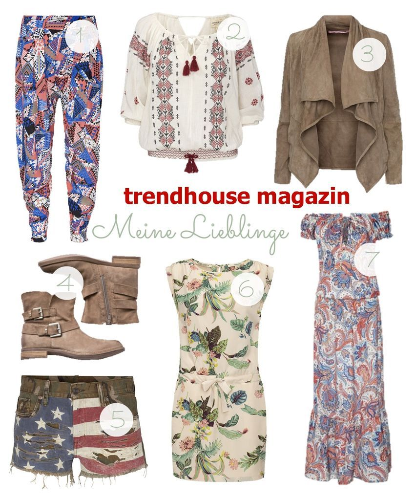 trendhouse magazin Summer 2014: Meine Lieblinge #fashion #trends #spring
