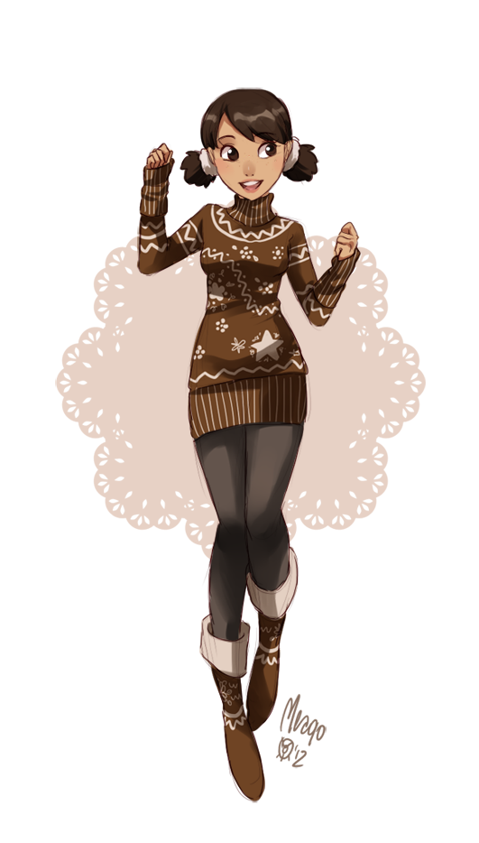 gingerbread by `meago on deviantART Design de personagem