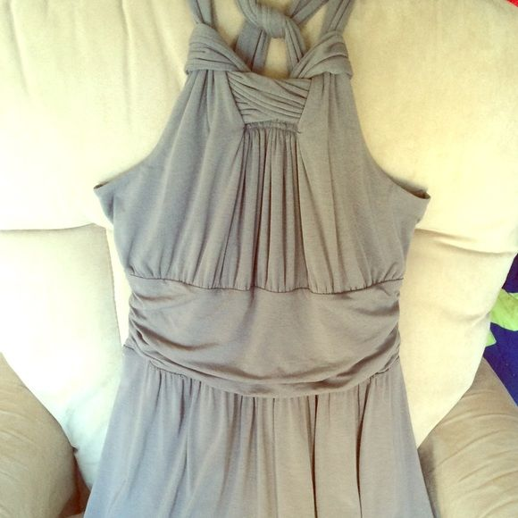 Ann Taylor loft dress Model dress with built in bra . It is so soft and best of all machine washable  Ann Taylor Dresses Strapless