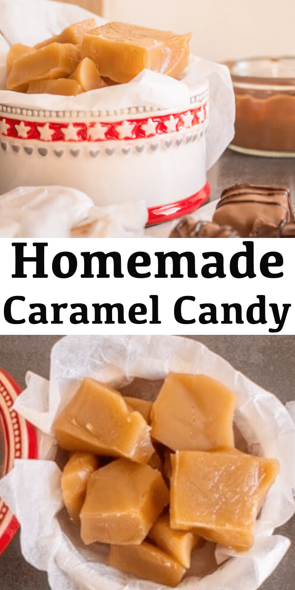 Photo of Creamy Old Fashioned Caramel Candies