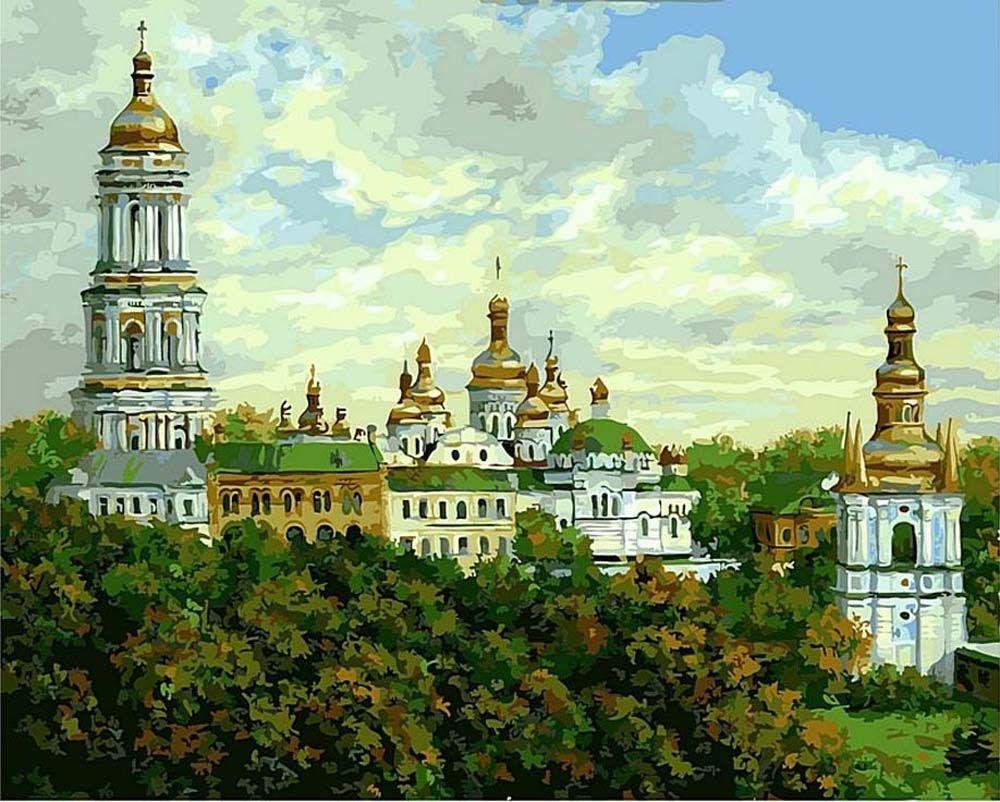 Картина по номерам «Киево-Печерская Лавра» | Картины ...