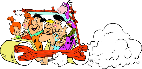 Flinstones | Flintstones Funny Cartoon Clip Art | ♡Flinstones ...