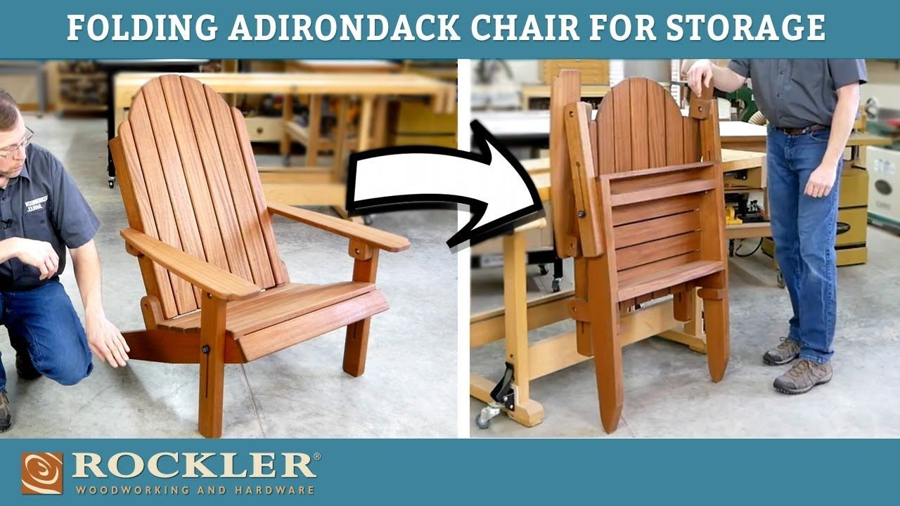 Diy adirondack chair rockler woodworking and hardware