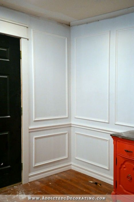 How To Install Picture Frame Molding With Images