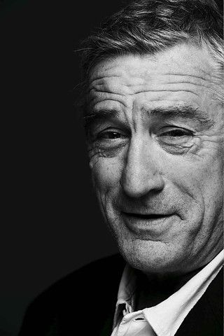 Robert De Niro (born August 17 1943) - American method actor /  director and producer
