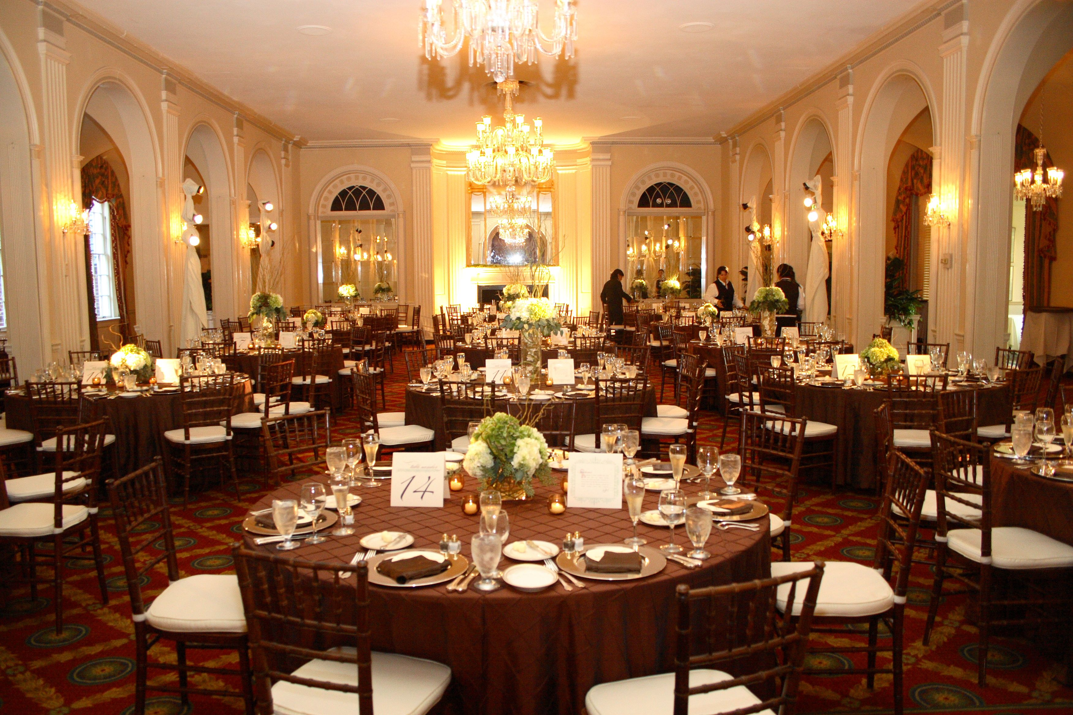 A Beautiful Wedding Reception At Our Roland Park Clubhouse