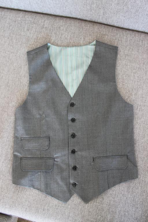 Sewing: Dapper Man's Vest