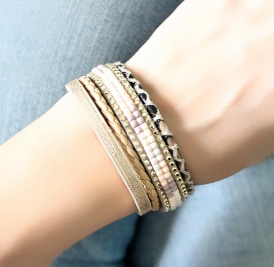 bracelet,multi,tours,cuir,tendance,2017,1