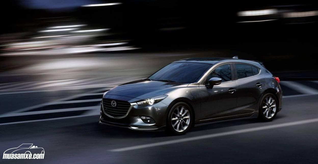 Đánh giá xe Mazda3 2018 về trang bị công nghệ và vận hành: Mazda 3 2018 sẽ có một số thay đổi khi ra mắt tại Mỹ vào cuối năm nay. Cụ thể, xe vẫn sẽ giữ kiểu dáng như hiện nay nhưng các phiên bản Touring và Grand Touring sẽ được trang bị la-zăng hợp kim màu xám. Mazda3 2018 cũng sẽ được trang bị đèn pha LED, đèn hậu LED và đèn LED hoạt động ban ngày. Về phần nội thất, Mazda3 2018 sẽ không có quá nhiều sự thay đổi. Cải tiến lớn nhất về nội thất trên Mazda3 2018 chính là bảng điều khiển trên…
