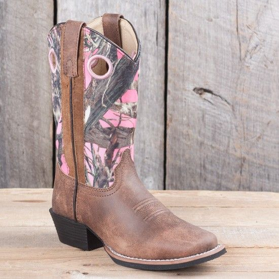 Smoky Mountain Kids' Pink Camo Mesa Boots | Fun gifts for the kids ...