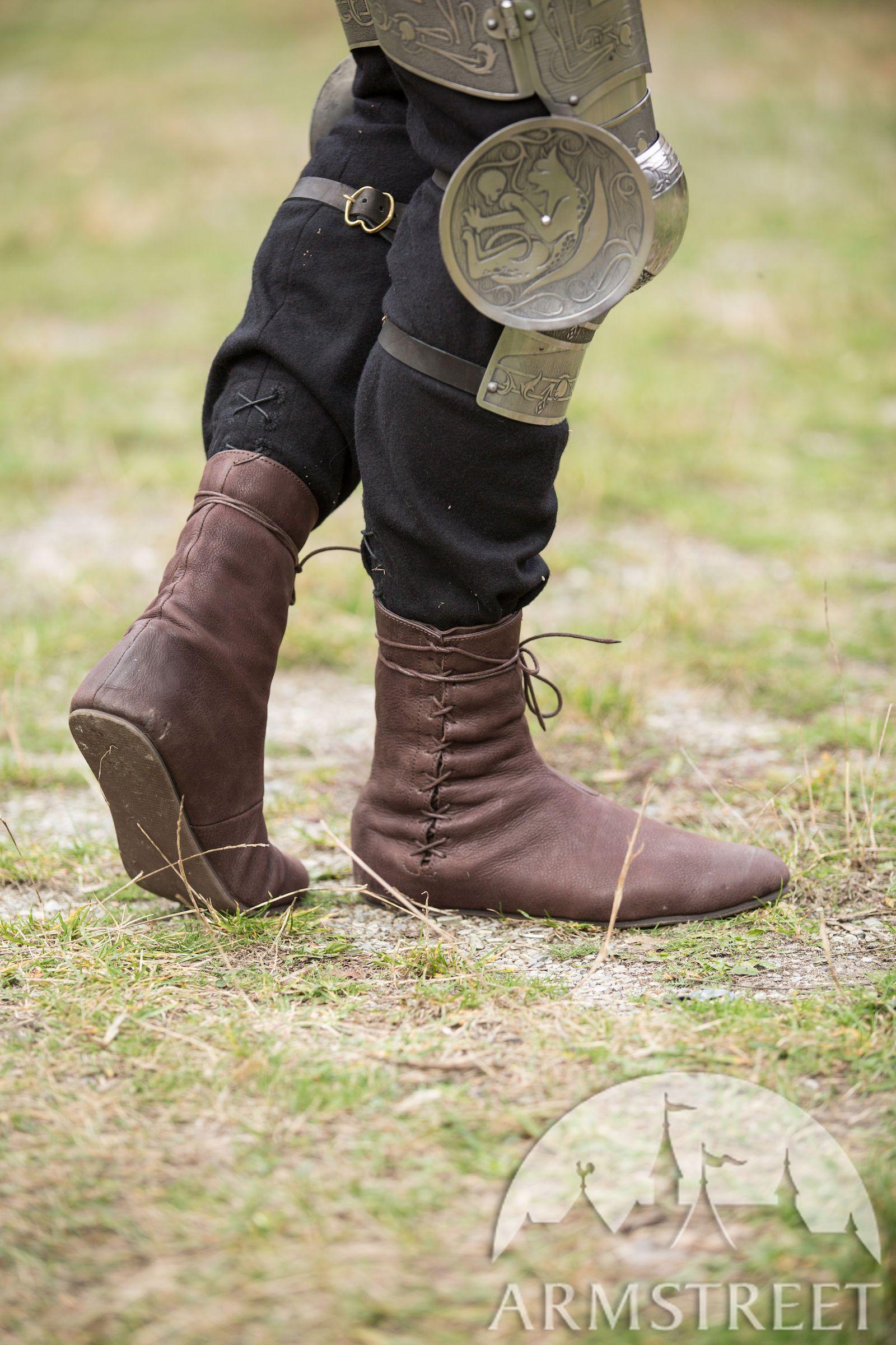 Mittelalter Stiefel mit Schnürung in 2020   Gothic stiefel