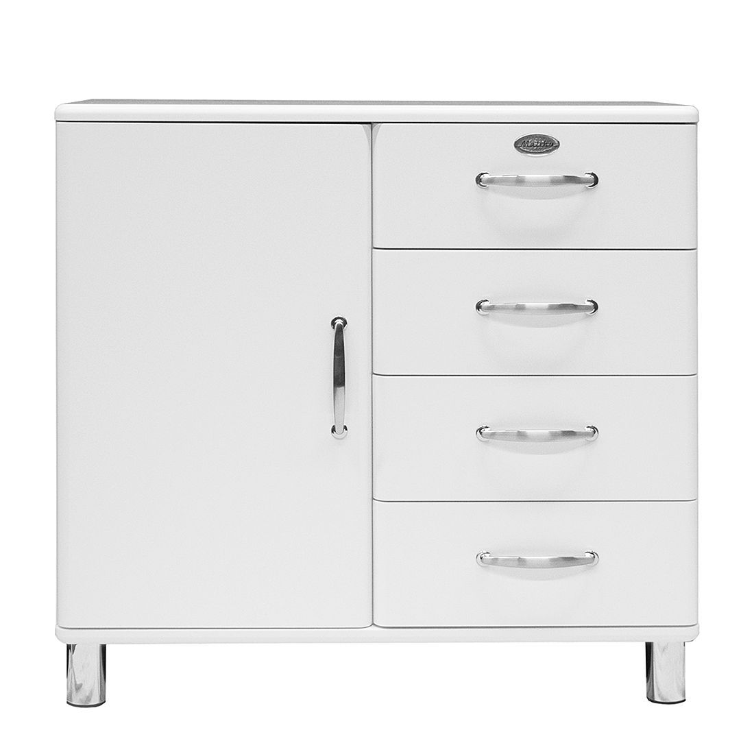 Entzückend Schrank Malibu Das Beste Von Sideboard - Weiß, Tenzo Möbel, Wohnzimmer, Kommoden
