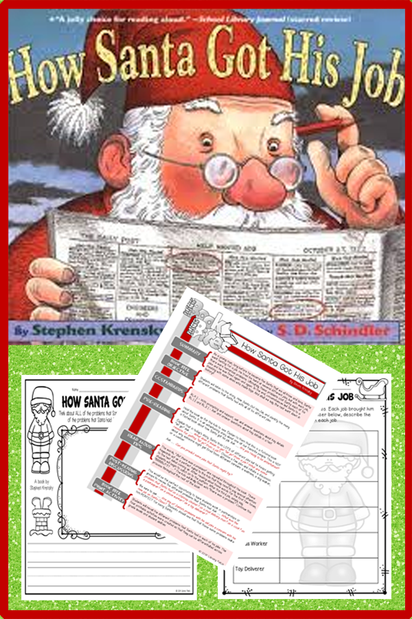 How Santa Got His Job Classroom Freebies Christmas Lesson Christmas Classroom Christmas School