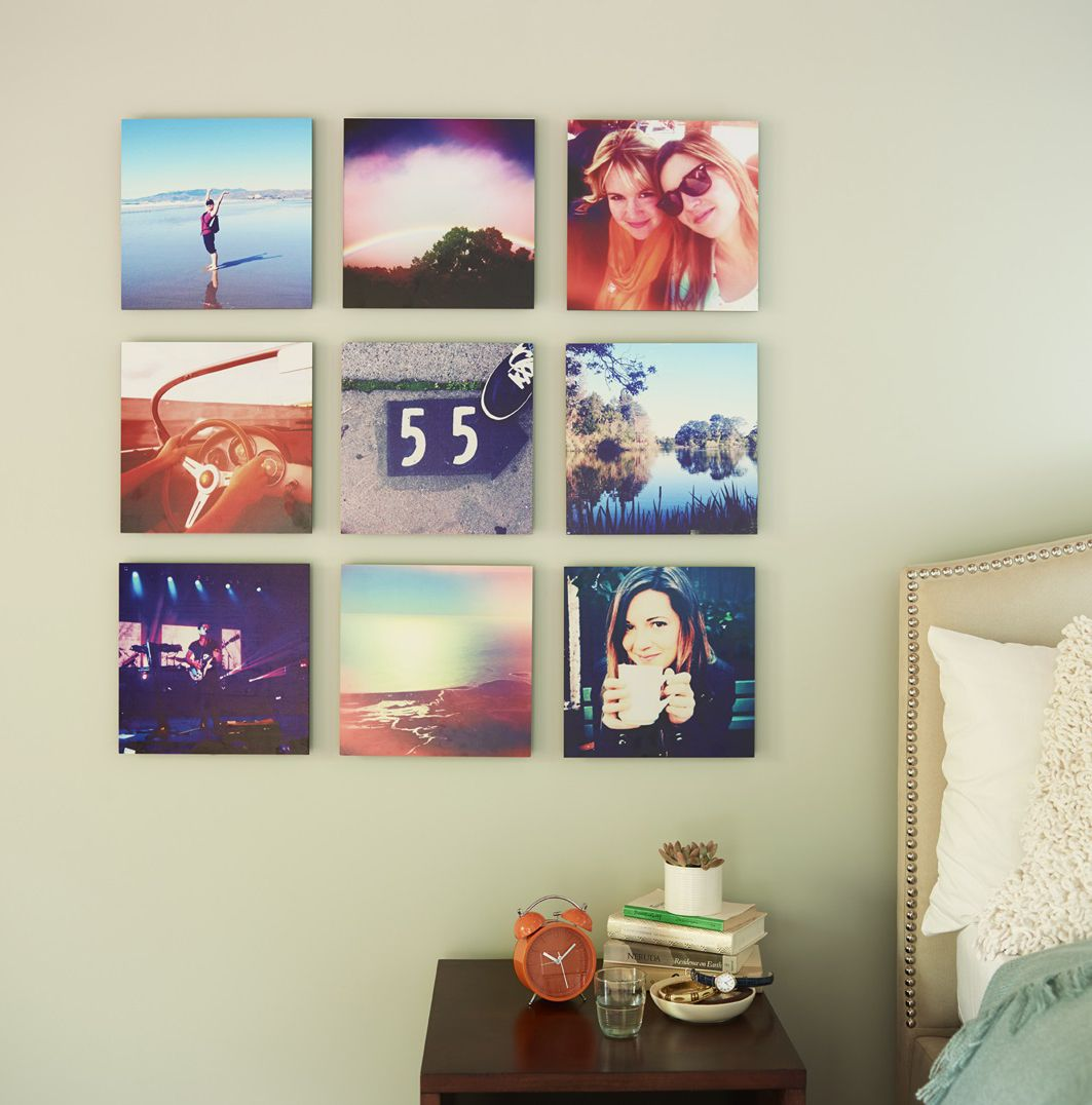Your Favorite Pictures From Your Favorite Trips Bring Your Instagram Moments To Life With Personalized Mounted Wall Art Sho Hanging Pictures Decor Home Decor