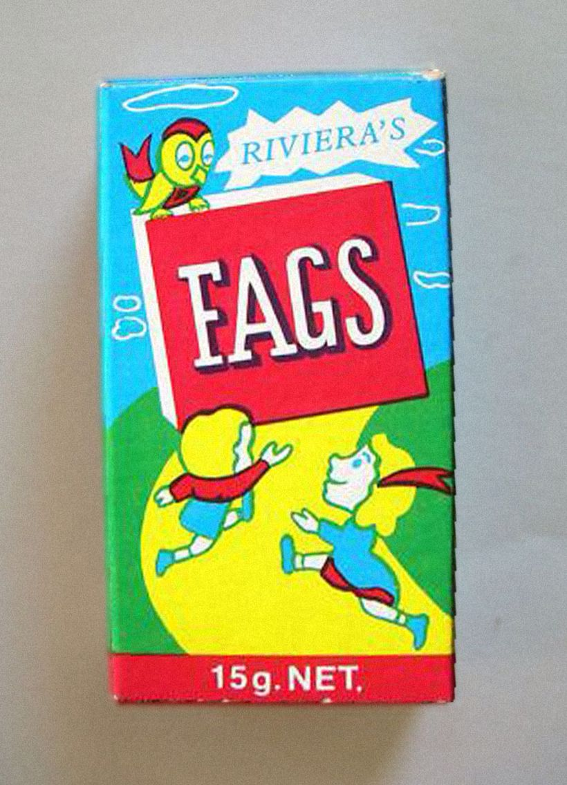 Box af fags Candy Cigaretter Historie Pinterest Candy-1380