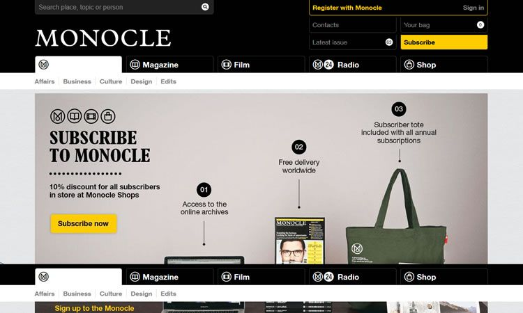 25 Content Heavy Sites for Web Inspiration | Website layout, Web ...