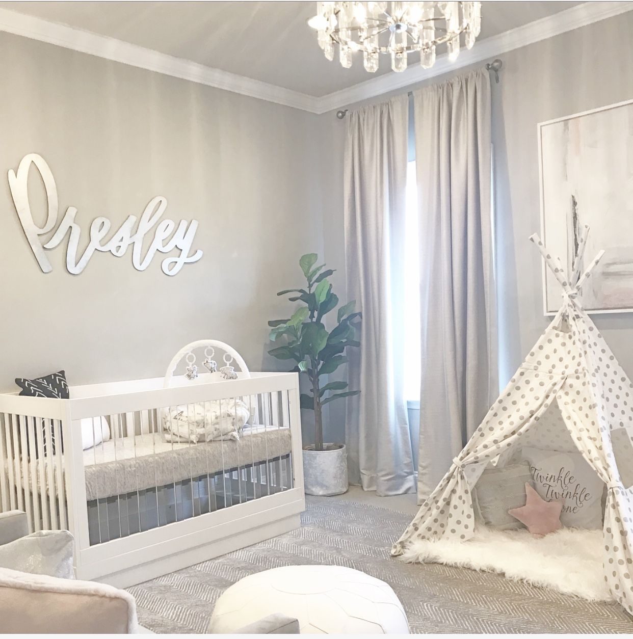 Presley (With images) | Nursery baby room, Baby nursery