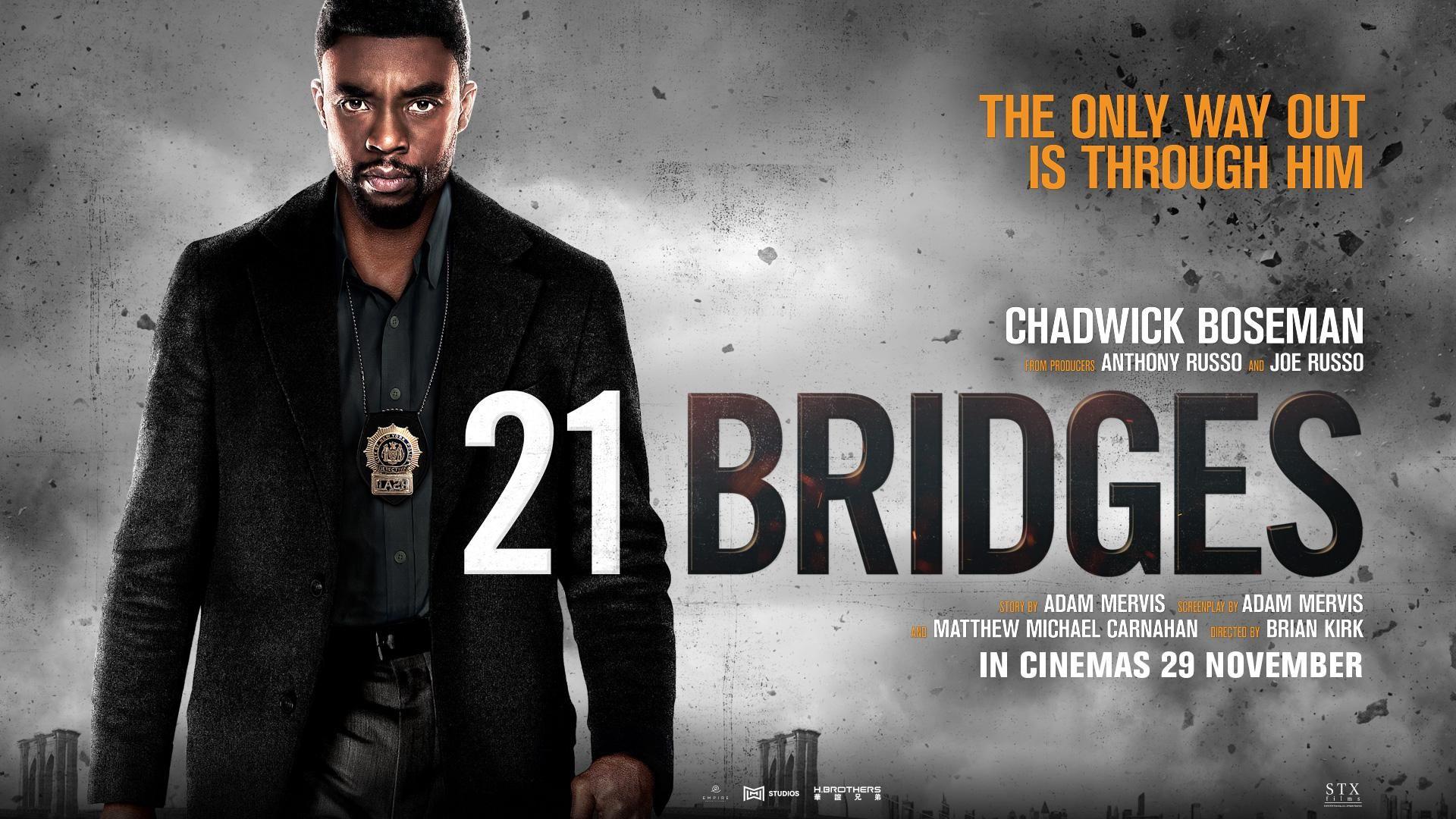 21 Bridges Joe Russo Taylor Kitsch Chadwick Boseman