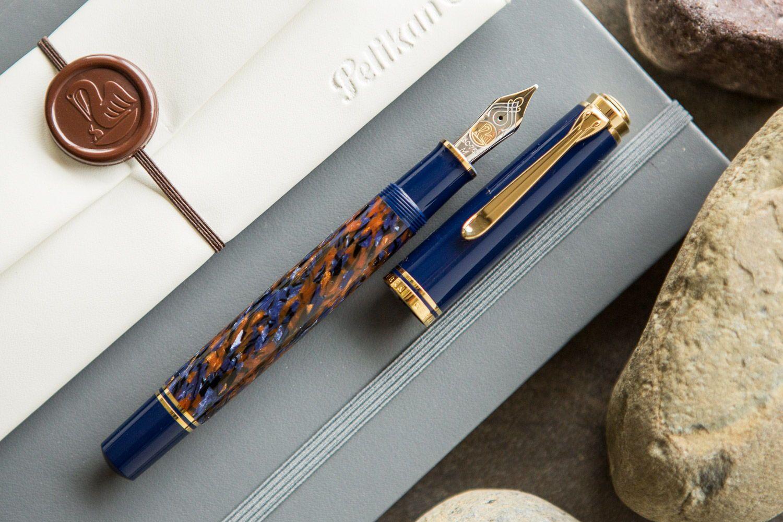Pelikan M800 Stone Garden Fountain Pen Fountain Pen Pen Bullet Pen