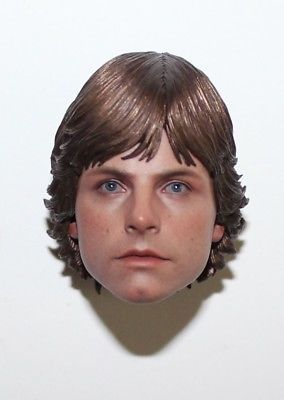 1//6 Star Wars Luke Skywalker head sculpt for Hot Toys body in stock
