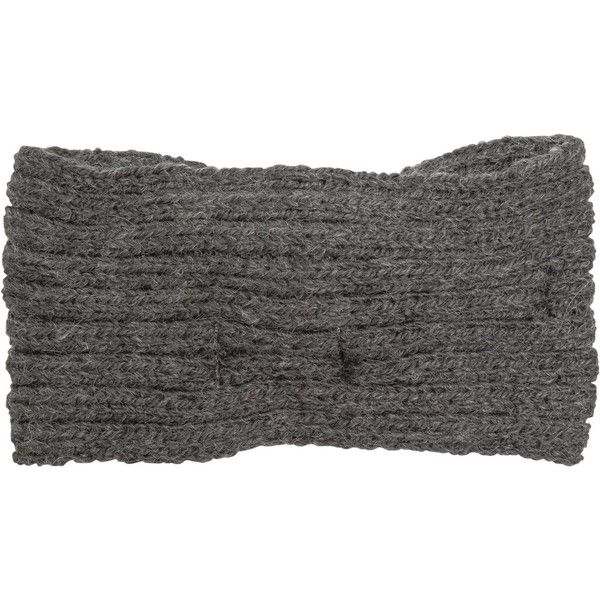 Krochet Kids The Stevie Wide Headband ($22) ❤ liked on Polyvore featuring accessories, hair accessories, grey, head wrap hair accessories, knot headband, crochet headwrap, head wrap headband and knotted headwrap