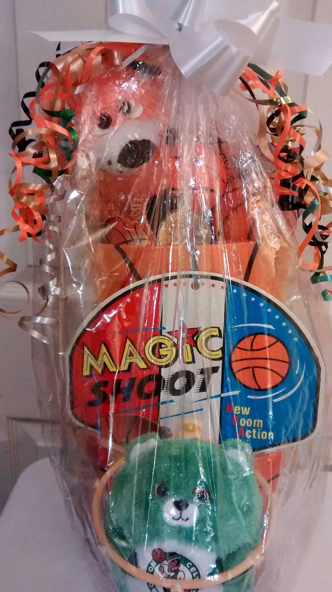 Orange basketball themed magic shot easter gift basket 30 orange basketball themed magic shot easter gift basket 30 cappellos creations facebook negle Choice Image