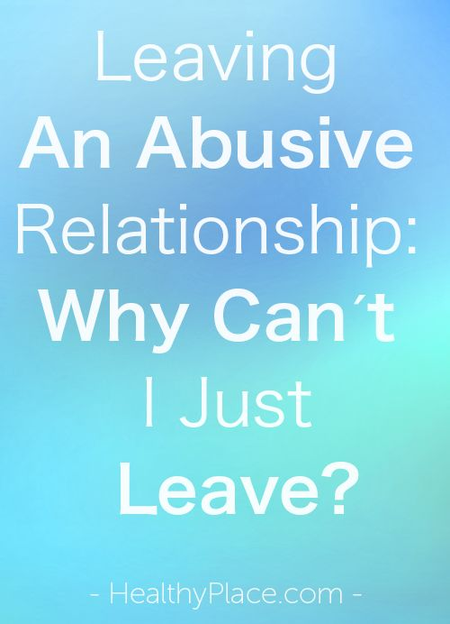 how to leave an abusive relationship for good