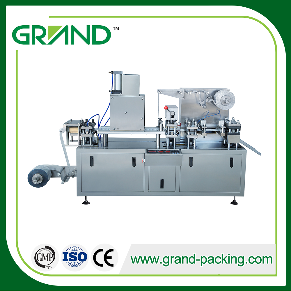 Dpk 120h Blister Packing Machine Applicable To The Pharmaceutical Food Health Care Products Industr Blister Packing Machine Packing Machine Blister Packaging