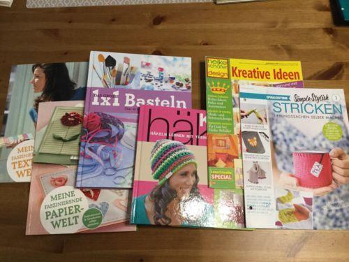 6 Handarbeitsbücherbastelbücherfür Kleingroßheftestricken