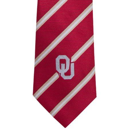 Oklahoma Stripe One Necktie, Red