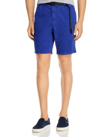 Gramicci Cotton Stretch Twill Belted Regular Fit Shorts Men - Bloomingdale's