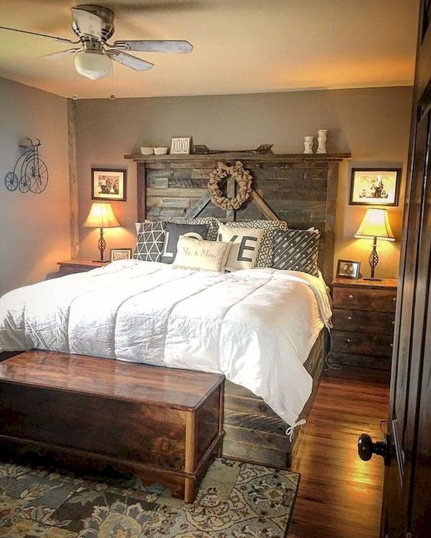 Rustic Romantic Bedroom Ideas: 47 Most Popular Bedding For Farmhouse Bedroom Design Ideas
