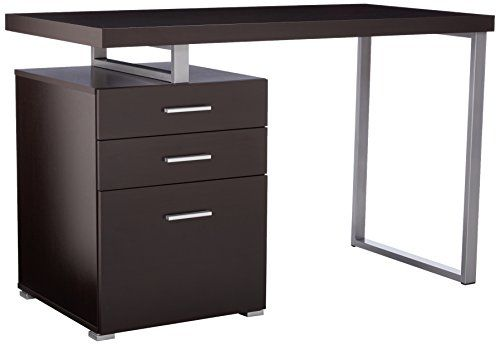 Monarch Specialties Hollow-Core Left or Right Facing Desk, 48-Inch