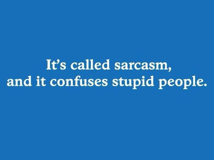 I Love Sarcasm Stupid People Funny Quotes Sarcasm Funny Quotes