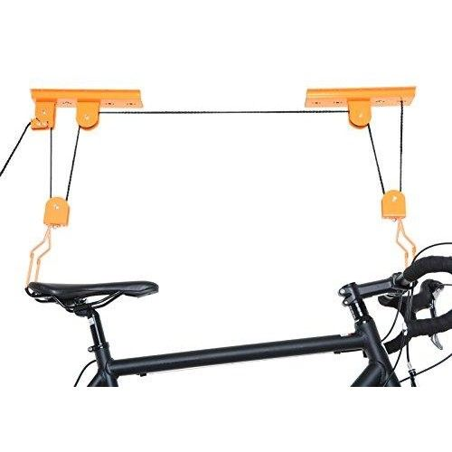 ceiling mounted garage bike lift bicycle hoist cycling pinterest plafond suspendu et support. Black Bedroom Furniture Sets. Home Design Ideas