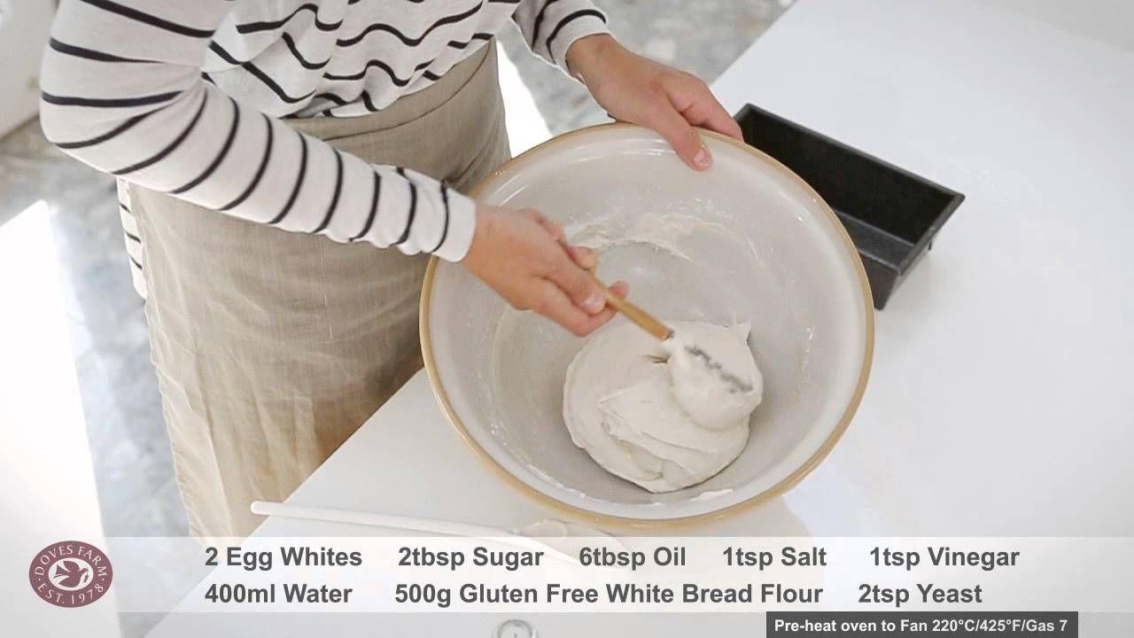 Gluten Free White Bread Recipe Freee By Doves Farm Youtube In 2020 Gluten Free White Bread Recipe Gluten Free Recipes Bread White Bread Recipe