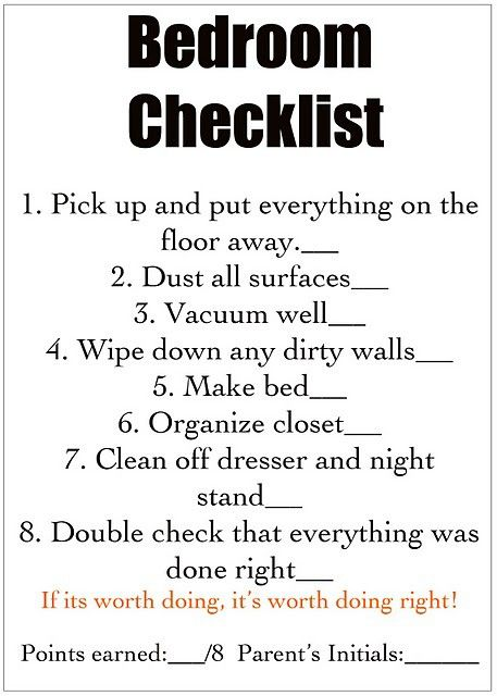 Here you go Mo!! Chore list for kids Chore list for kids