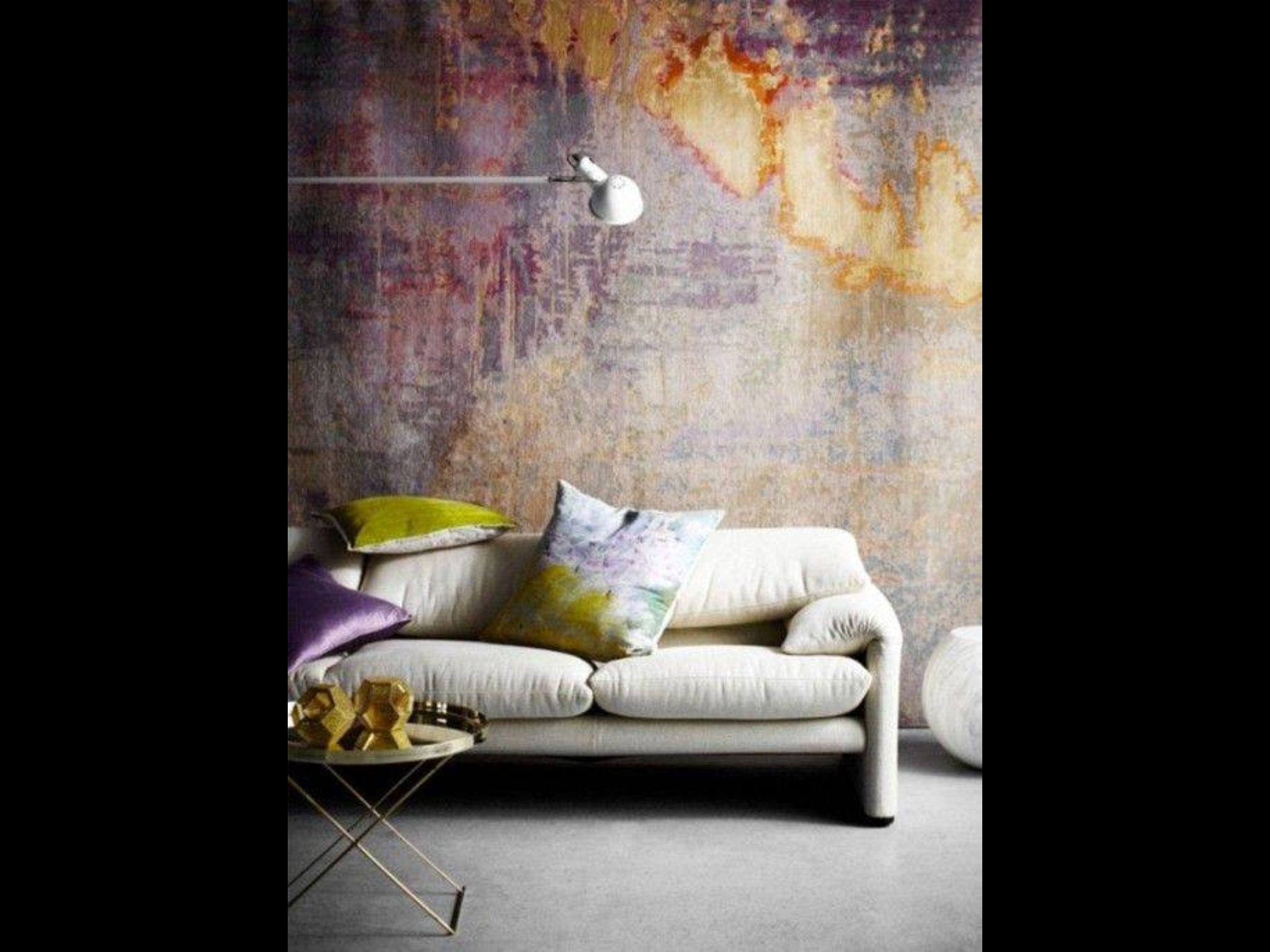 Pin De Yeison Cifuentes En Interior Design Pinterest ~ Pintura Decorativa Paredes Interiores