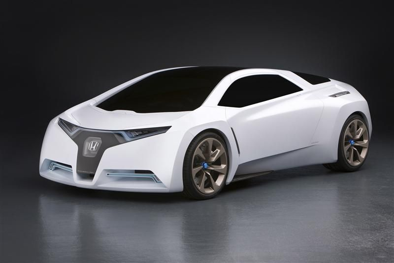 honda fc sport is designed to run like one in the near hydrogen auto world of