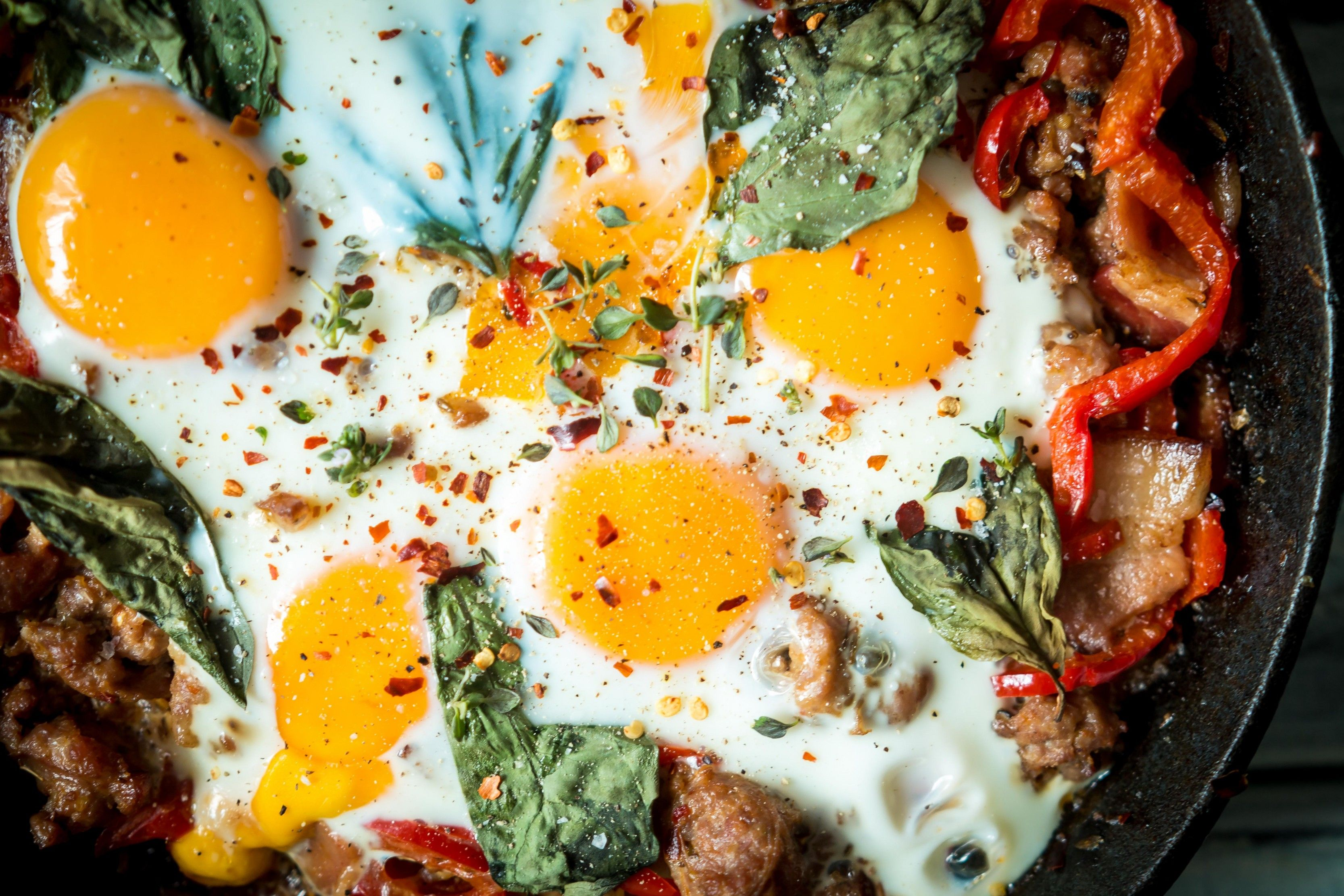 Check out the newest breakfast skillet recipe by dr