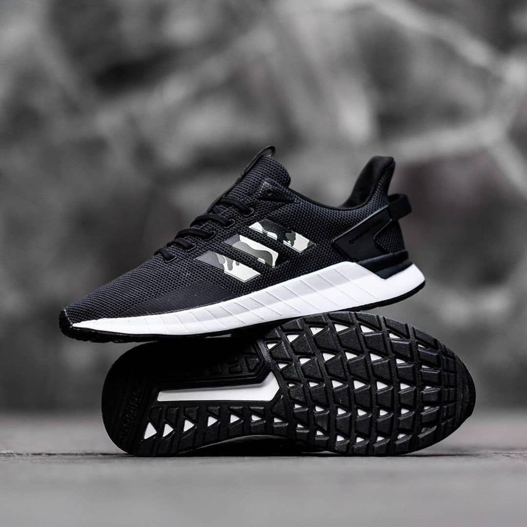 Adidas Questar Black List Camo Size 40 44 100 Original Bnwb Idr